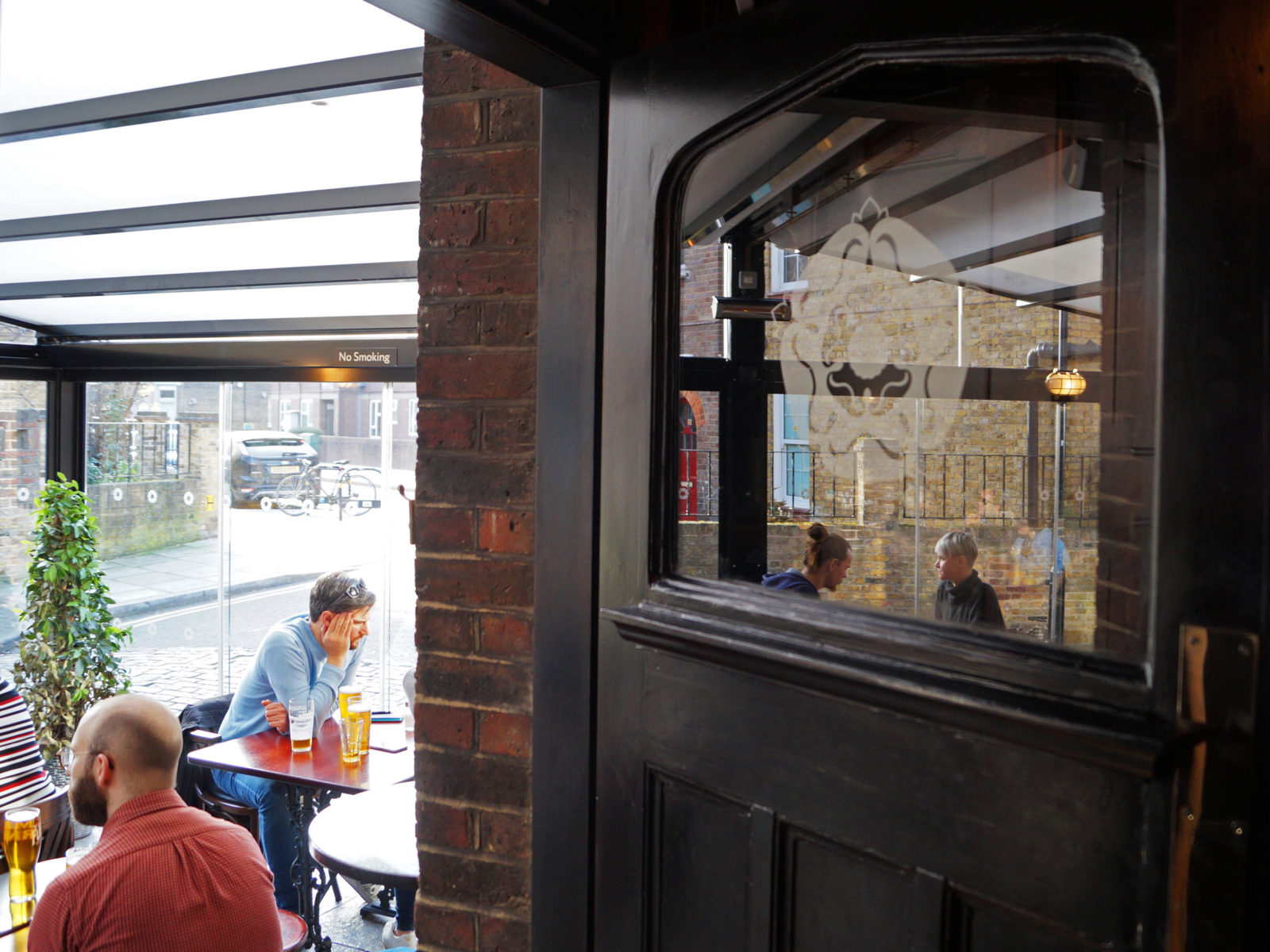 We love our wooden interiors and our glass conservatory. Best of both worlds.